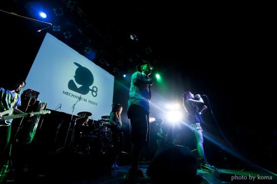 アトヨンの制作実績(MECHANICAL TEDDY様「Shibuya O-WEST LIVE映像&PHOTO」)