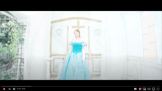 アトヨンの制作実績(天路恵梨 様「Cinderellaシンデレラ」)